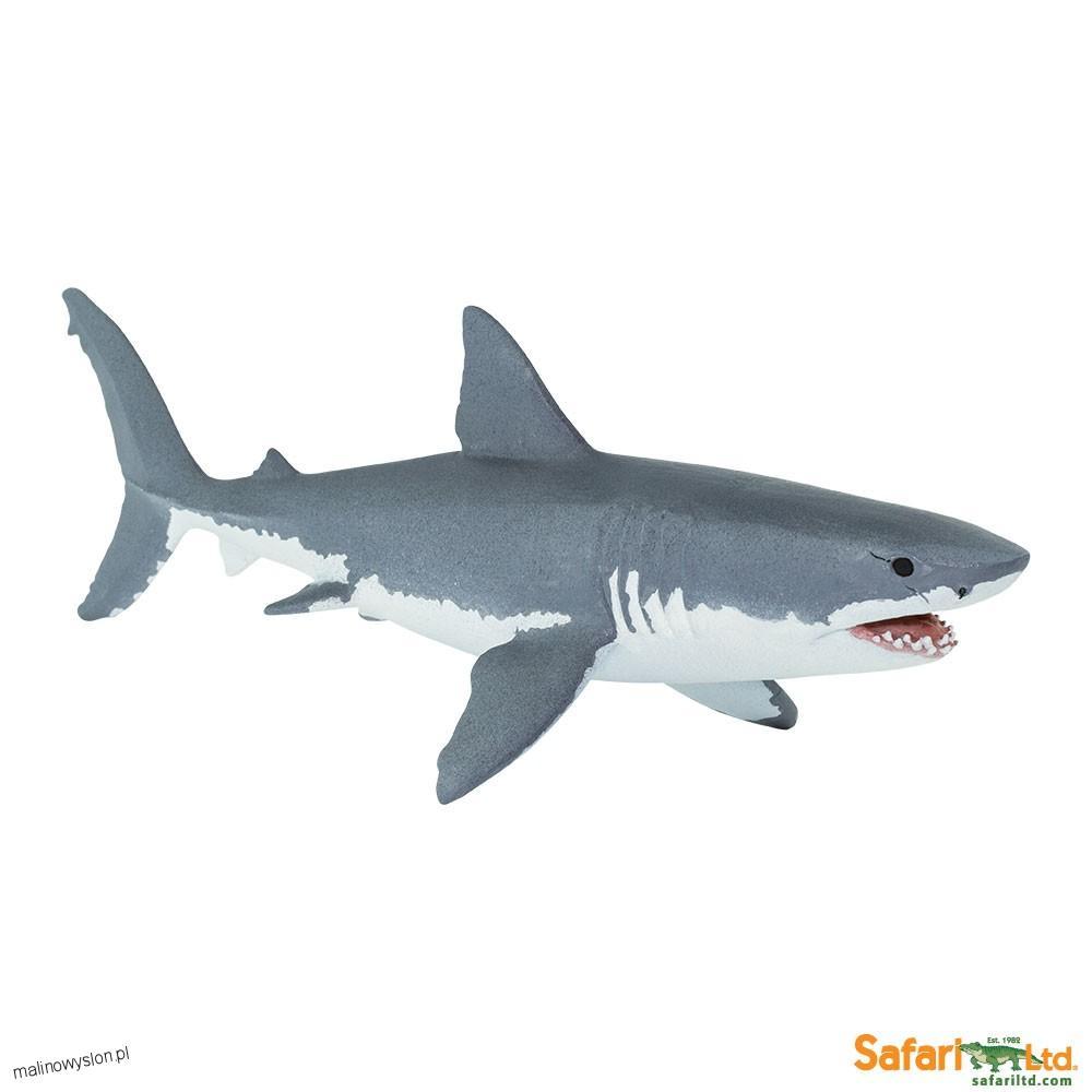 Rekin Żarłacz Biały Figurki Safari